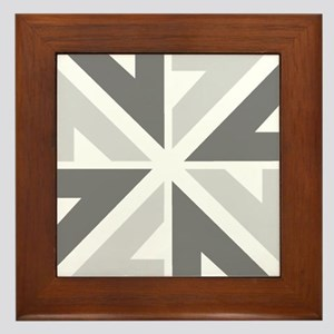 New Zealand NZ ZN Framed Tile