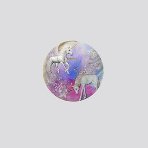 Unicorn Fantasy Sky Mini Button