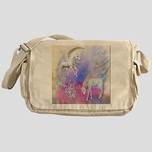 Unicorn Fantasy Sky Messenger Bag