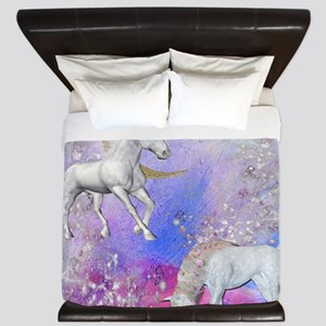 Unicorn Fantasy Sky King Duvet