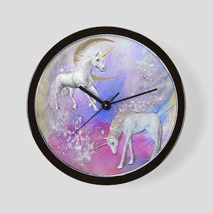 Unicorn Fantasy Sky Wall Clock
