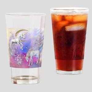 Unicorn Fantasy Sky Drinking Glass