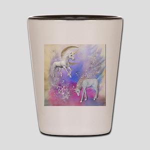 Unicorn Fantasy Sky Shot Glass
