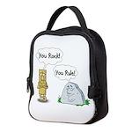 You Rock, You Rule Neoprene Lunch Bag