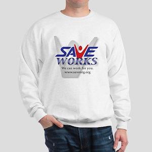 SaveWorks2_logo Sweatshirt