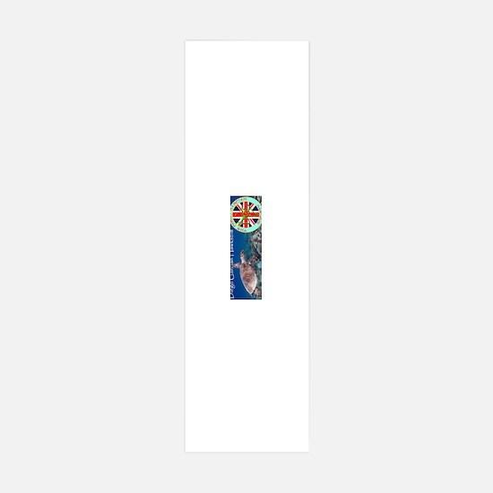 Mugs-Hawksbill-2500-vert.gif Wall Decal
