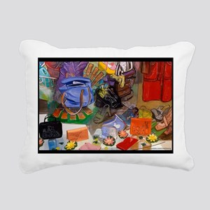 notecardlink Rectangular Canvas Pillow