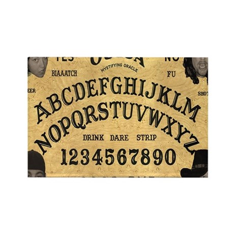 ouija_mousepad Rectangle Magnet