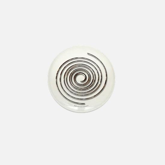 Spiral Mini Button (10 pack)