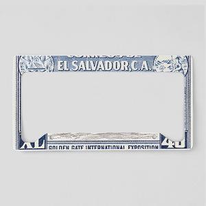 ElSalvador License Plate Holder