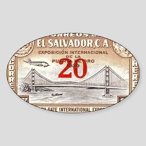 ElSalvador Sticker (Oval)