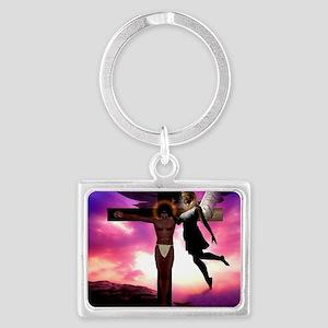 Jesus 12_200 Landscape Keychain