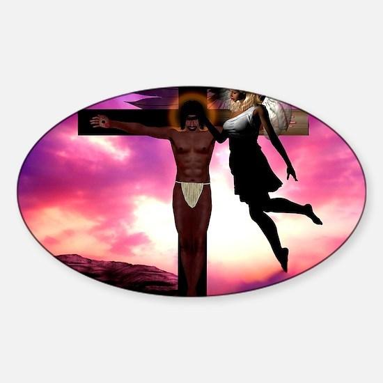 Jesus 12_200 Sticker (Oval)