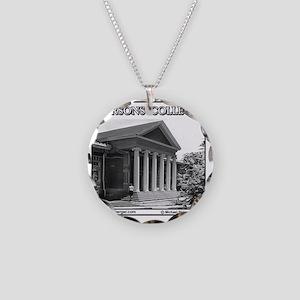 PARSONS #1 Tile  Necklace Circle Charm