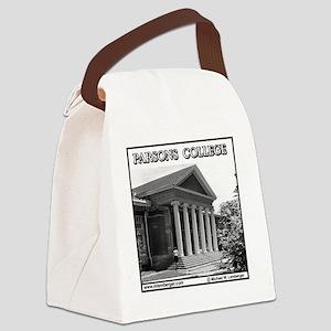 PARSONS #1 Tile  Canvas Lunch Bag