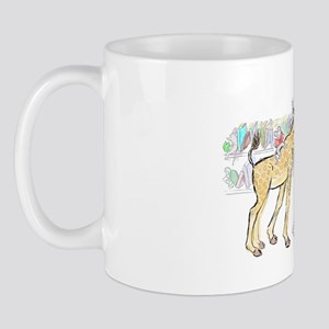 giraffe pig link Mug