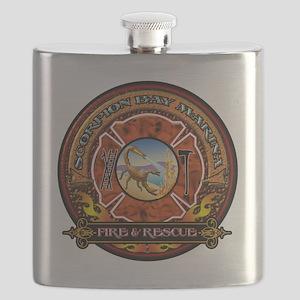 Scorpion Bay Original Design for Print Flask