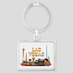 Ultimate Vegas Skyline Landscape Keychain