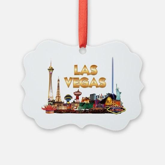 Ultimate Vegas Skyline Ornament