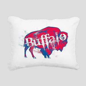 JstBuffalo_BillsBlk Rectangular Canvas Pillow