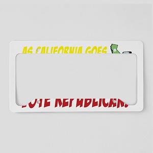 ascaligoes_repub_t_blk License Plate Holder