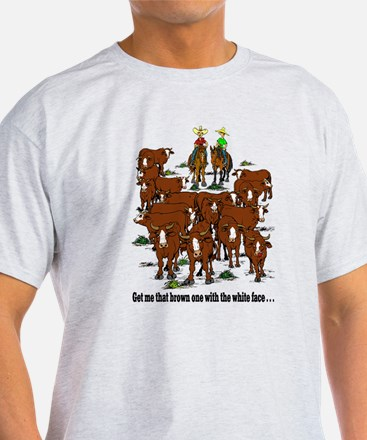 Cutting Horses and Cows T-Shirt