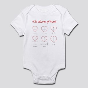 Heart Curves Infant Bodysuit