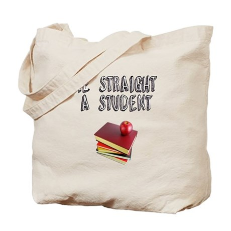 Stright A sTUDENT Tote Bag