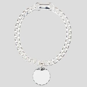lake bully 4 white Charm Bracelet, One Charm