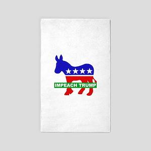 Impeach Trump Area Rug