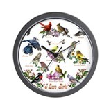 Bird Wall Clocks