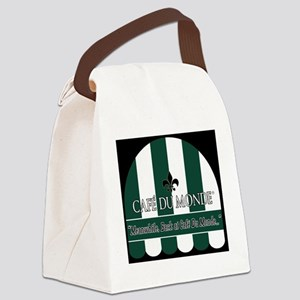 CDM-Logo-BW (7) Canvas Lunch Bag