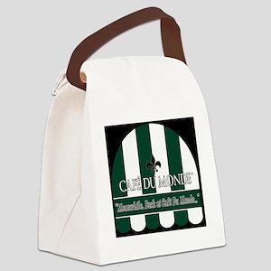 CDM-Logo-BW (7) Canvas Lunch Bag