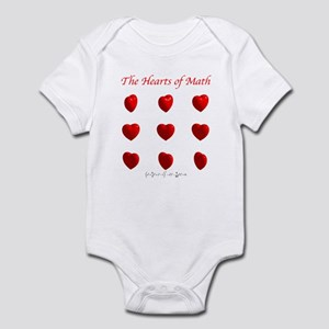 Hearts of Math Infant Bodysuit