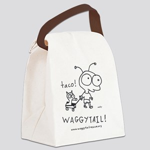 2-mobywaggytail2 Canvas Lunch Bag