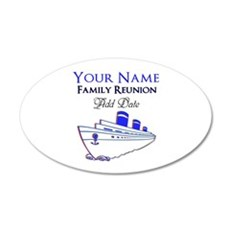 FAMILY REUNION CRUISE Wall Decal