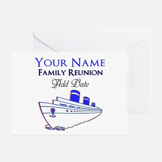 FAMILY REUNION CRUISE Greeting Card