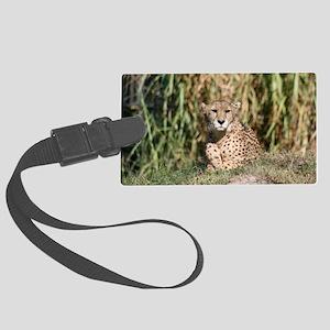 cheetah Large Luggage Tag