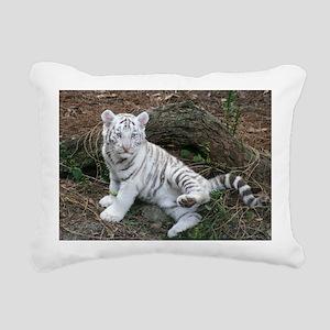 tiger2 Rectangular Canvas Pillow