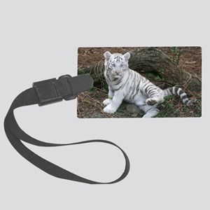 tiger2 Large Luggage Tag