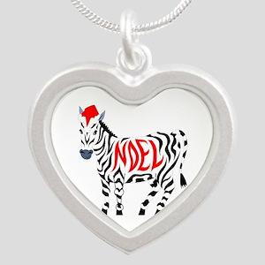 Christmas Noel Zebra Necklaces