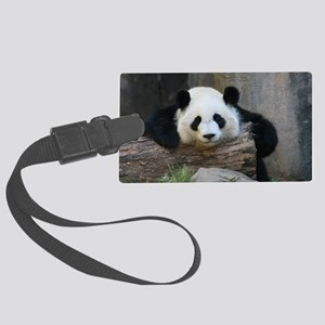 panda Large Luggage Tag