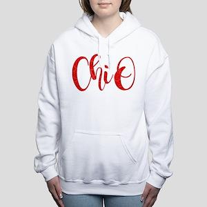Chi Omega ChiO Women's Hooded Sweatshirt