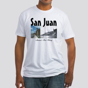 sanjuan2a Fitted T-Shirt