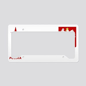 FootballshirtPolandori License Plate Holder