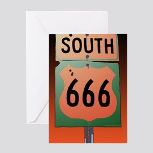 route666soK-R Greeting Card