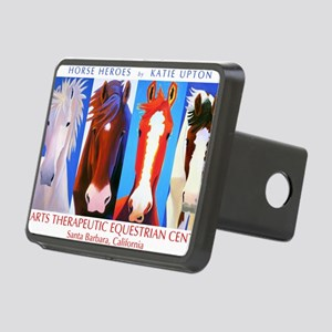 HeroesTShirt Rectangular Hitch Cover