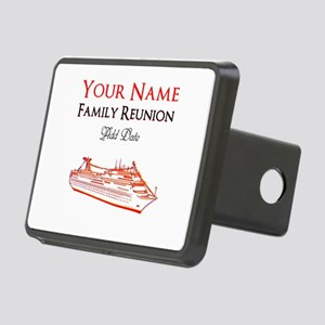 FAMILY REUNION CRUISE Rectangular Hitch Cover