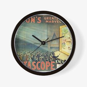 movie poster edison Wall Clock