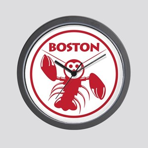 Boston Kids Lobster Wall Clock